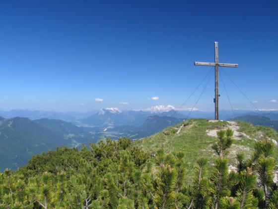Am Gipfel des Veitsbergs