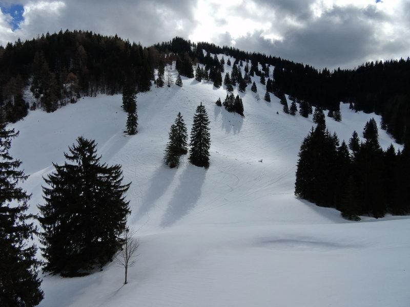 Der Gipfelhang des Lahnankopf