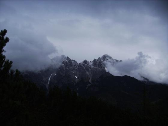 Gipfelblick auf die Loferer Steinberge