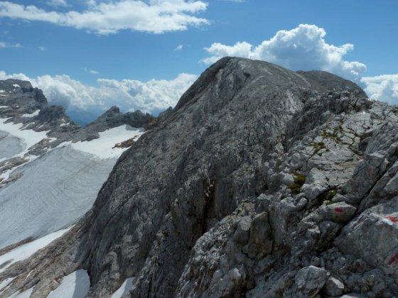 Eine Felsbastion - der Hochseiler