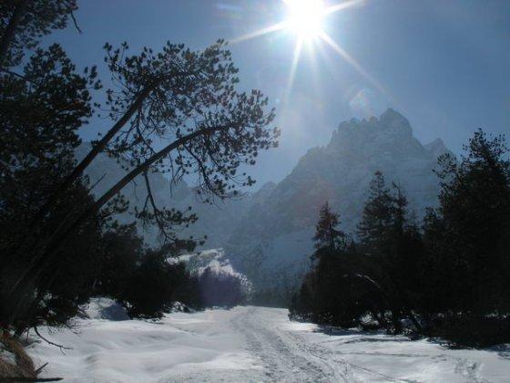 Im winterlichen Wimbachtal