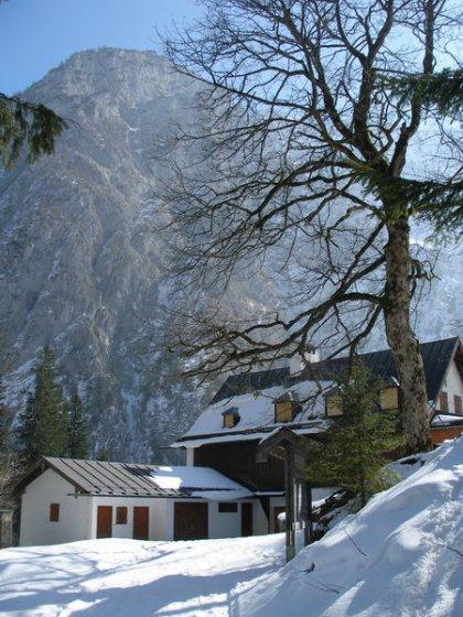 Die Wimbachschloss ist das erste Ziel dieser Wanderung