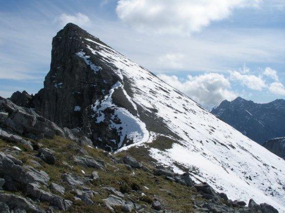 Der Gipfel der Rappenspitze ist hier nur noch 20 Minuten entfernt.