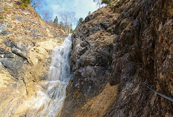 Klettersteig Reit Im Winkl : Roberge hausbachfall klettersteig
