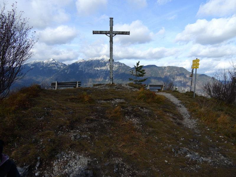 Am Gipfel des Dötzenkopfes