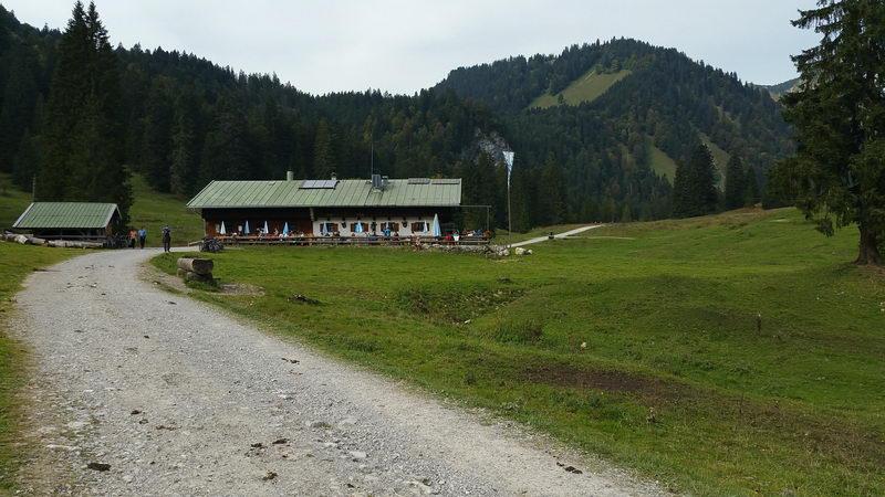 Schwarzentenn im Söllbachtal ist für Wanderer leicht zu erreichen.