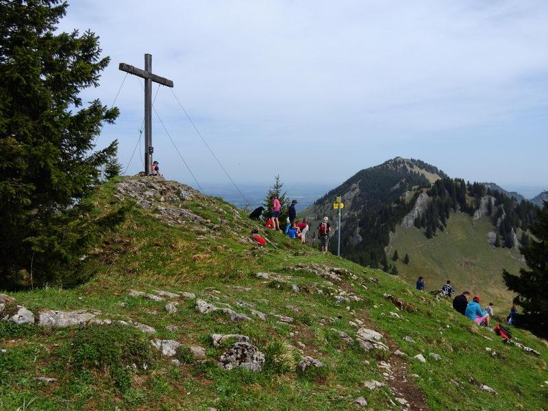 Das Gipfelkreuz von Feichteck.