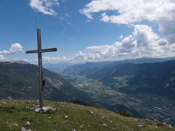Das Gipfelkreuz des Hirschkopfs Foto: Margit Hiller
