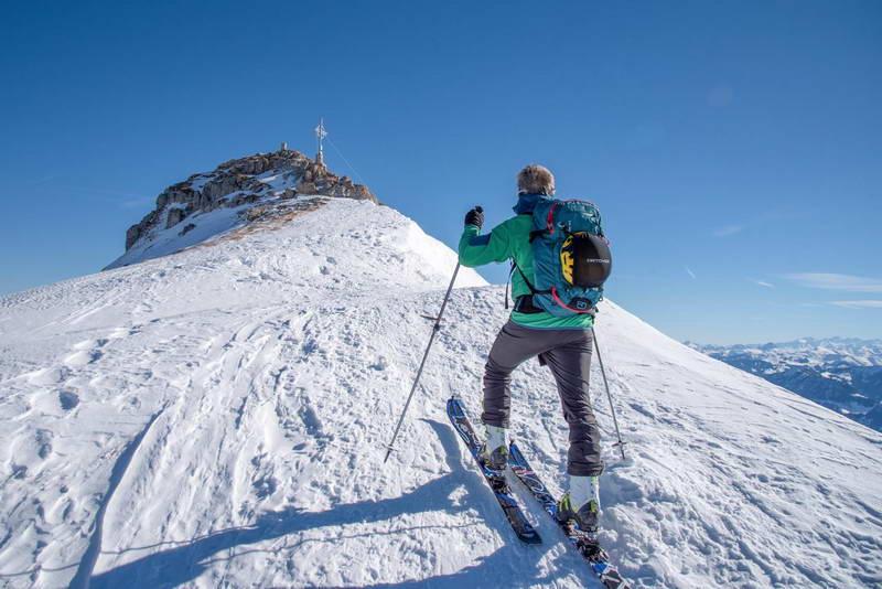 Der höchste Punkt der Tour, der Gipfel der Rofanspitze, ist gleich erreicht.Foto © Günter Kratschmayer (Schwäble), zu Schwäble auf Facebook