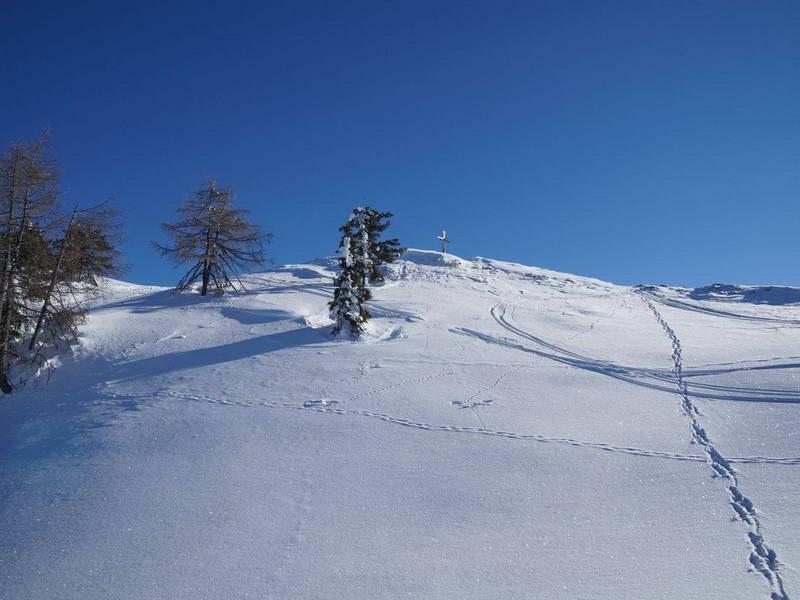 ... dieses Gipfelfoto des Kalkstein. Foto © MANAL