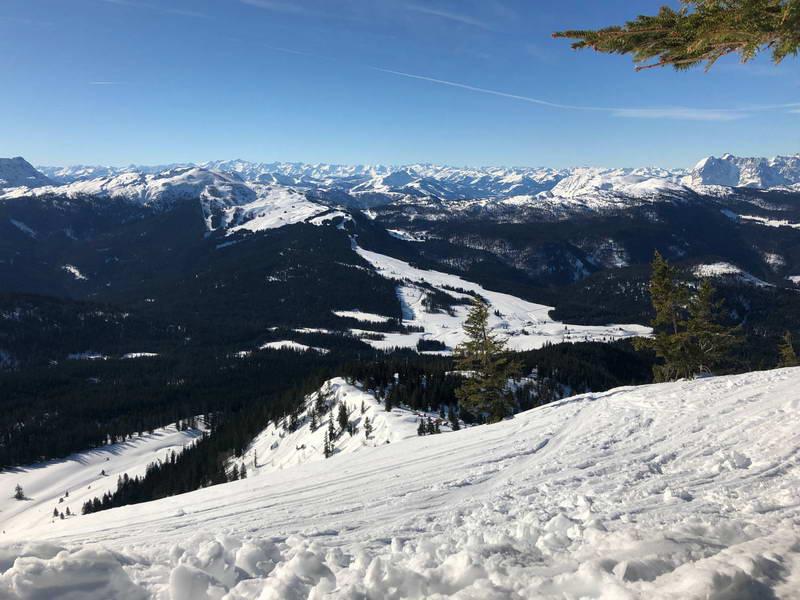 Gipfelblick vom Dürrnbachhorn