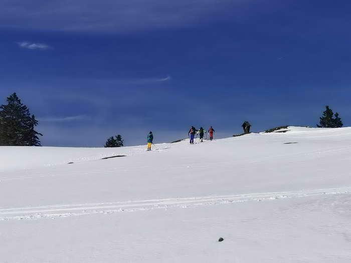 Der auch als Labeggkreuz bezeichnet Gugel ist das Ziel dieser einfachen Skitour.