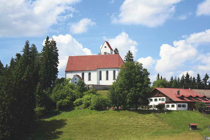 St. Georg am Auerberg, Foto (c) Susanne und Walter Elsner