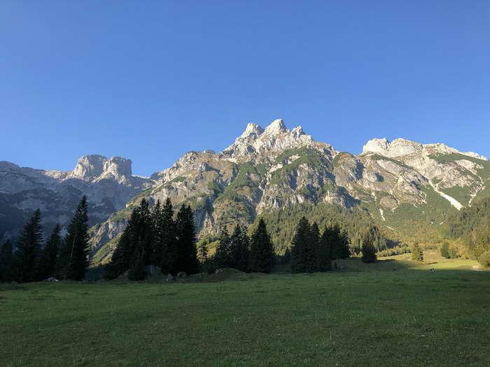 Wengerau mit Tennengebirge