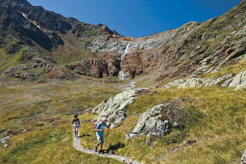 Die Sieben-Seen-Runde gehört zu den schönsten alpinen Wanderungen der Region. Foto (c) Mark Zahel