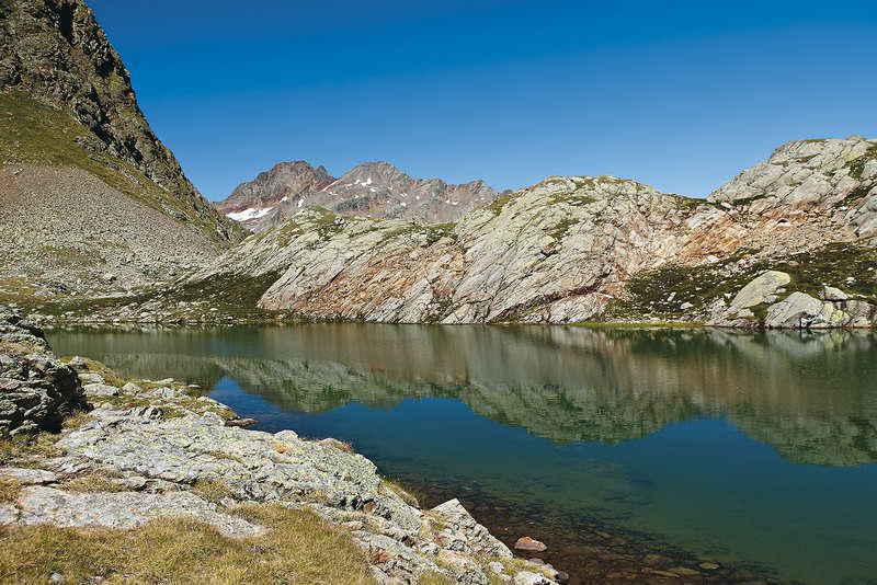 Auf der Seenplatte der Oberen Senner Egete. Foto (c) Mark Zahel