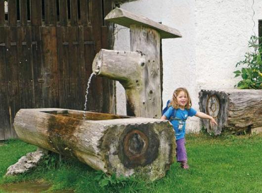 Brunnen am Forsthaus