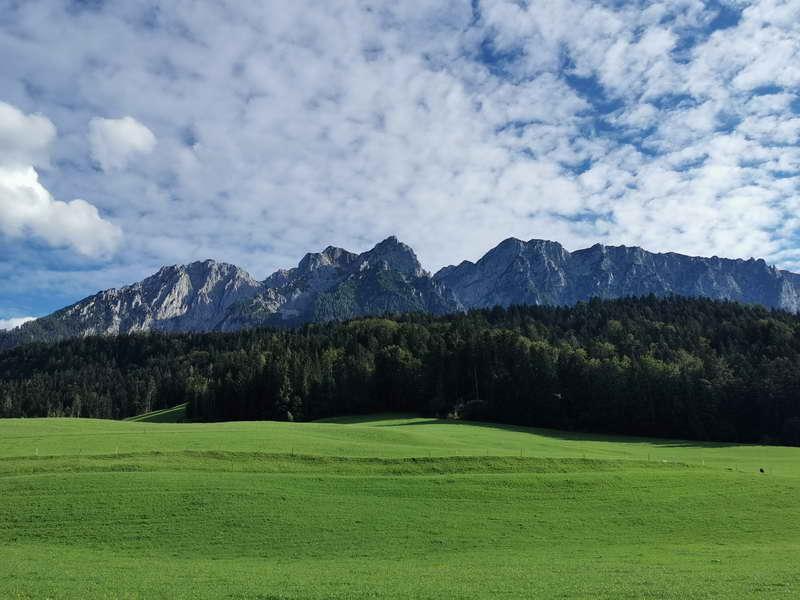 Das Kaisergebirge von Norden