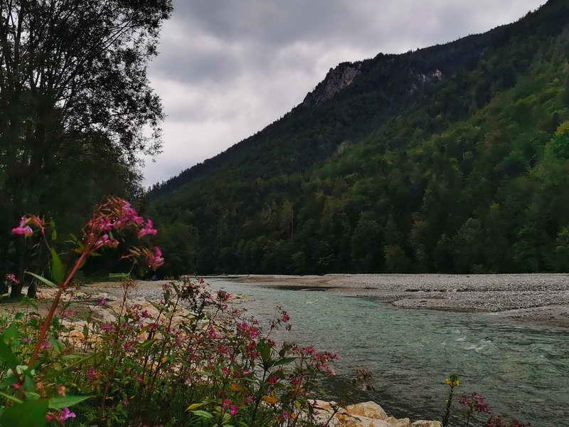 Gscheuerwand und Tiroler Ache von der Schlechinger Seite aus