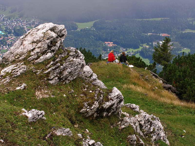 Gipfelblick vom Hohen Ziegspitz