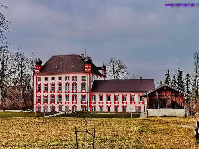 Das Schloss von Höhenrain wird heute für Ausstellungen genutzt